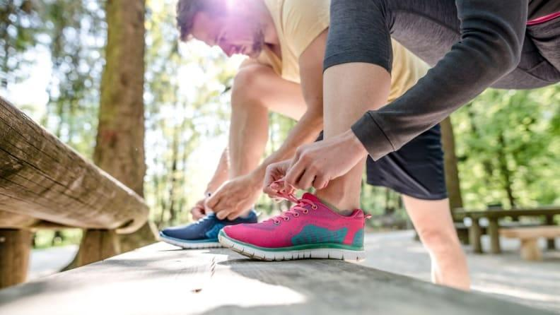 Finding the right shoe takes means understanding your feet and walking style.