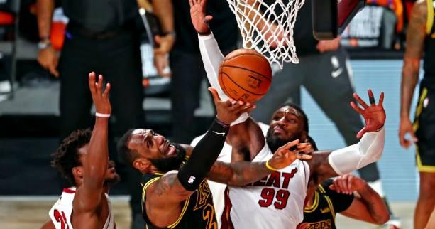 Basket - NBA - LeBron James (Los Angeles Lakers) : « Des coups de sifflet douteux »