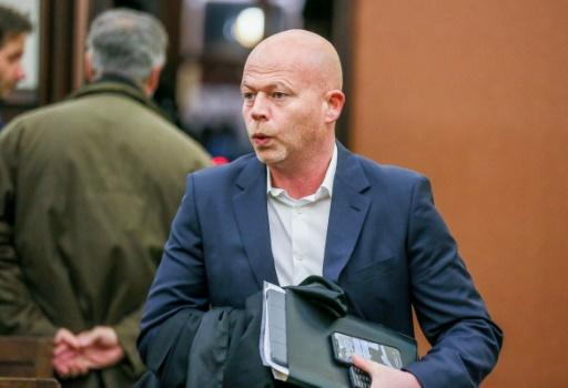 Salah Abdeslam's lawyer Sven Mery, pictured in April 2018, confirmed a Belgian news report that his client would not appeal the sentence handed down for terrorism-related attempted murder