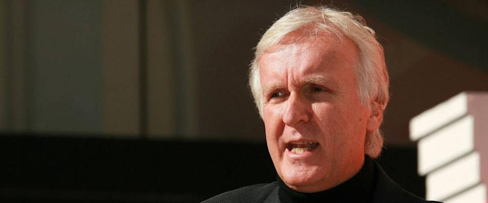 James Cameron  at Guy Laliberte Honored With Star On The Walk Of Fame. Hollywood, CA. 11-22-10