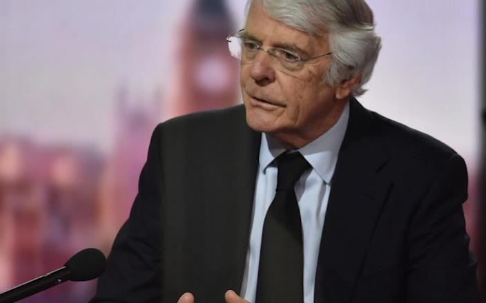 """Sir John Major believes """"it is right to re-examine and update the rules on propriety"""" in the wake of the row over Mr Cameron - PA"""