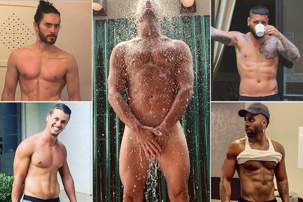 """Guys including Jared Leto, Maluma, Jason Derulo and Brendan McLoughlin were happy to fill your feed with their sizzling six-packs - but <a href=""""https://people.com/movies/channing-tatum-naked-shower-photo/"""">Channing Tatum went a step farther</a>, thus earning your votes for most major Instagram of the year."""