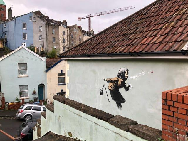 Graffiti artwork – Bristol