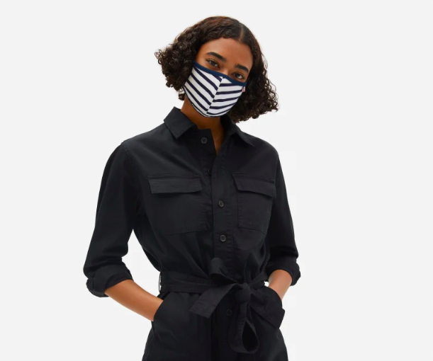Everlane is the latest brand to produce masks that give back.