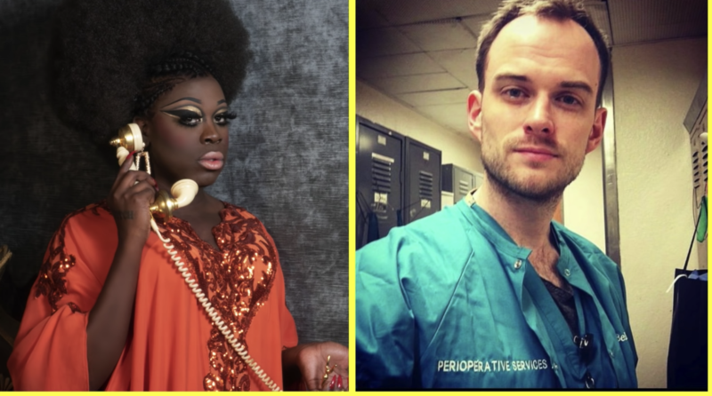 Bob the Drag Queen recently interviewed a nurse working on the frontlines of the coronavirus pandemic in her new YouTube show. (Photo: YouTube/Bob the Drag Queen)
