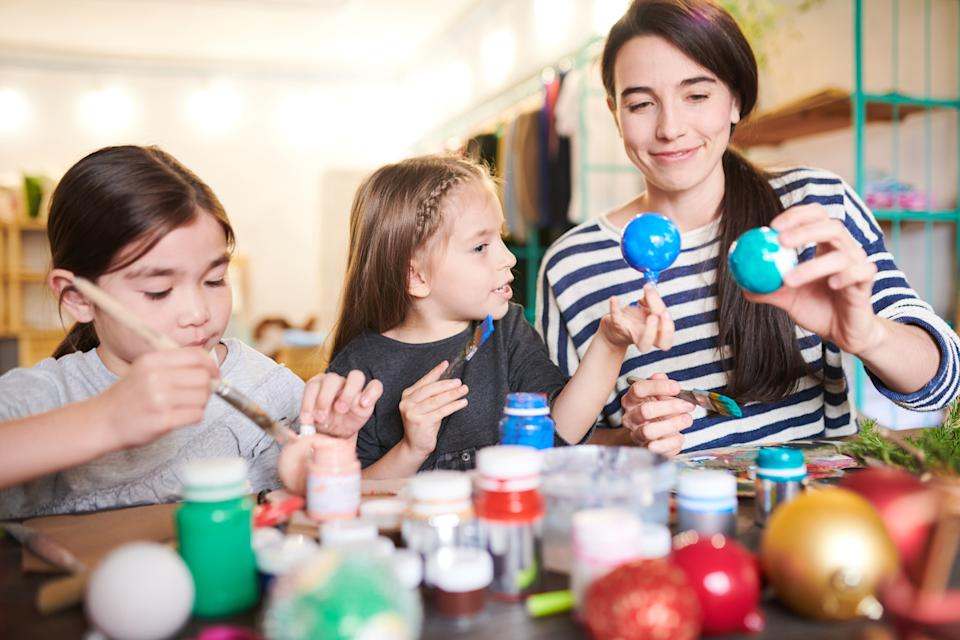 Incorporate some fun into your home school schedule. (Getty Images)
