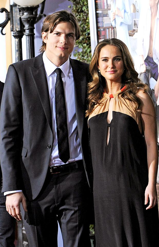 "<a href=""http://movies.yahoo.com/movie/contributor/1800354733"">Ashton Kutcher</a> and <a href=""http://movies.yahoo.com/movie/contributor/1800020300"">Natalie Portman</a> attend the Los Angeles premiere of <a href=""http://movies.yahoo.com/movie/1810159162/info"">No Strings Attached</a> on January 11, 2011."