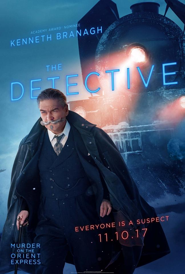 "<p>""One of the earliest thoughts was to imagine Poirot not at the tail-end of his career, but rather a Poirot who is still honing his craft,"" says screenwriter Michael Green of Branagh's Belgian sleuth. ""Though he might be the world's greatest detective, he's not the greatest detective <i>he'll </i>be.""</p>"