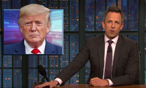 Seth Meyers: 'That's what Trump does, he betrays everybody'