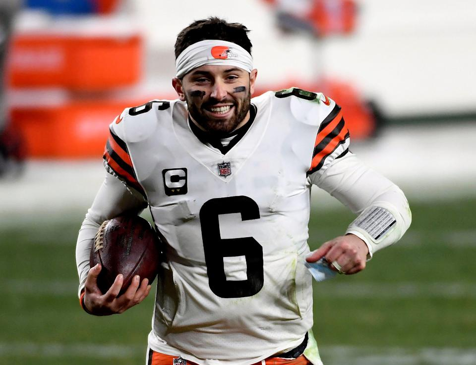 Cleveland Browns quarterback Baker Mayfield's offseason included running, lifting, getting a guaranteed $18 million and a celestial close encounter he will not forget. On his way home from dinner in Texas last month with his wife, Emily, Mayfield said he saw a UFO.