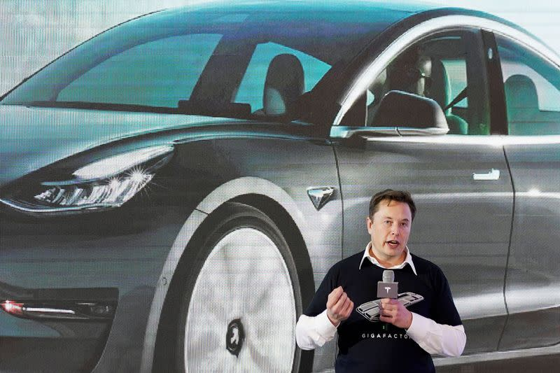 Demand for Tesla vehicles remained strong during pandemic Musk says