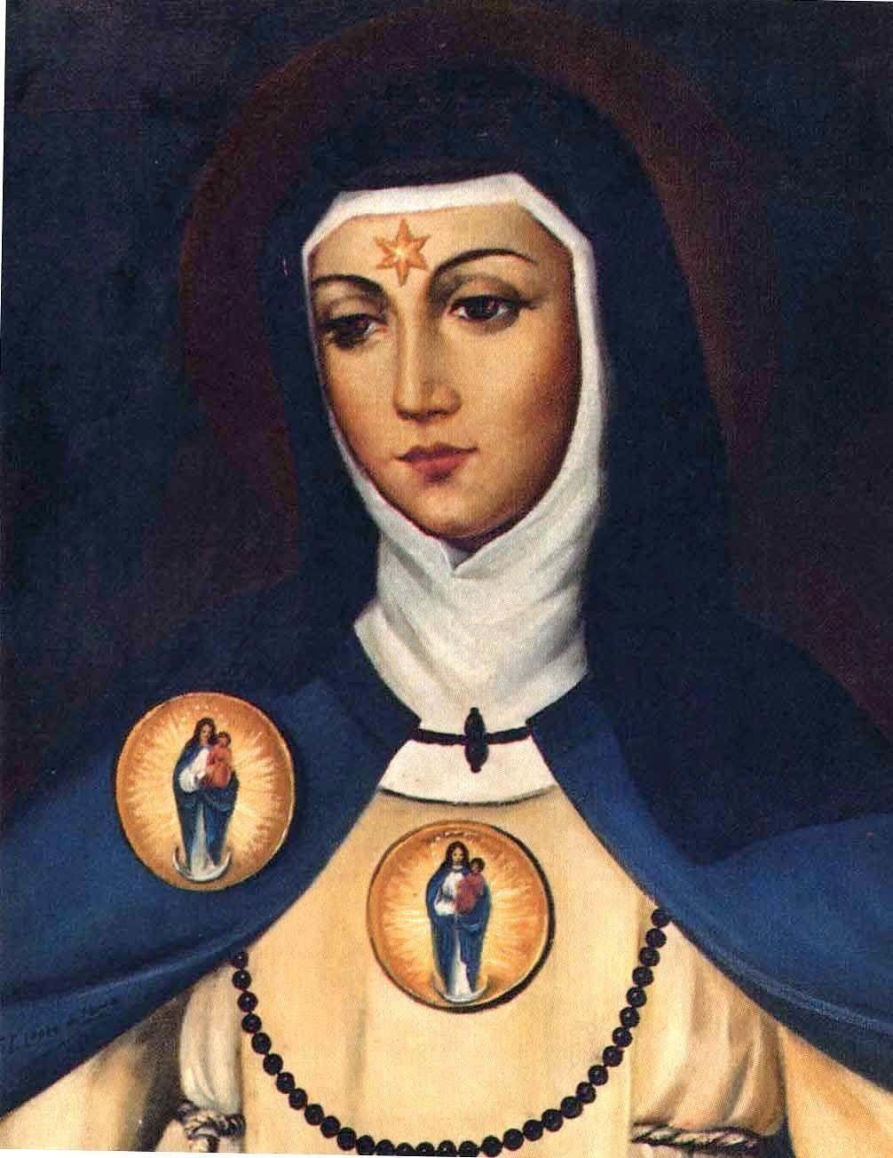 Born in 1424, <span>Beatrice of Silva</span>&amp;nbsp;abandoned a court life with Princess Isabel of Portugal to enter a Cistercian convent in Toledo. She lived at the convent until 1484, when she believed God summoned her to found a religious order. She started the Congregation of the Immaculate Conception of the Blessed Virgin Mary, where she lived and served as superior until her death circa 1492. Shortly before Beatrice&amp;rsquo;s death, Pope Innocent VIII <span>approved</span>&amp;nbsp;a the convent&amp;rsquo;s adoption of the Cistercian rule, which consisted of three guidelines: be silent and submissive to God&amp;rsquo;s direction; strive for a life of obscurity and piety; and love everyone with a holy love. Beatrice reportedly received a vision of the Virgin Mary dressed in a white habit with a white scapular and blue mantle, which formed the basis of the dress for her order.&amp;nbsp;Pope Paul VI canonized St. Beatrice in 1976.