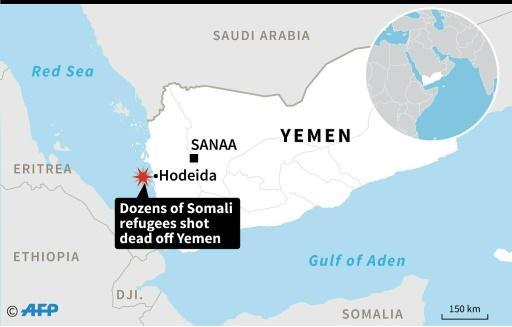 More than 30 Somali refugees shot dead off Yemen coast