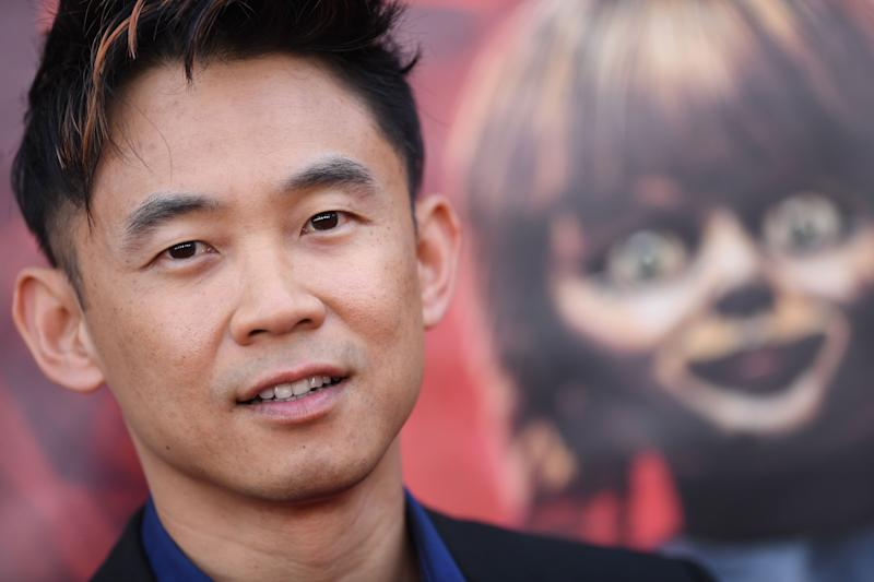 """Australian-Malaysian producer James Wan arrives for the World Premiere of """"Annabelle Comes Home"""" at the Regency Village theatre on June 20, 2019 in Westwood, California. (Photo by VALERIE MACON / AFP) (Photo credit should read VALERIE MACON/AFP/Getty Images)"""