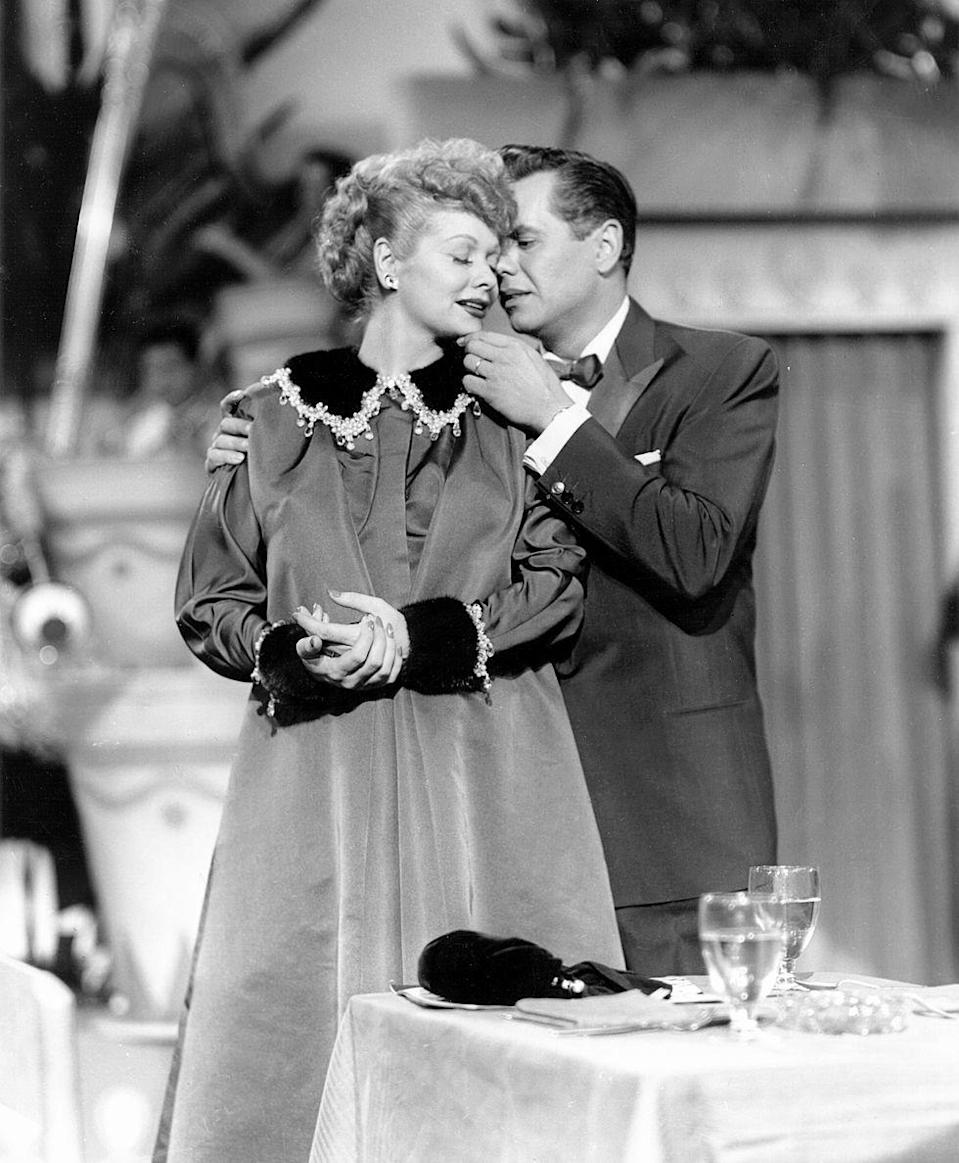 <p>Sometimes Lucy Ricardo's hijinks would carry over into her husband's nightclub, The Tropicana. The highbrow nightclub where Ricky Ricardo was the head bandleader was usually the setting of some good disguises and, of course, some 'splaining...</p>