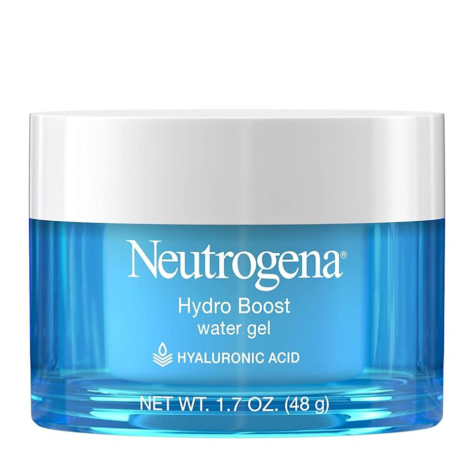 <p>Dry skin is no match for <span>Neutrogena Hydro Boost Hyaluronic Acid Water Gel Moisturizer</span> ($15). We love it because it doubles as a refreshing and smoothing makeup primer.</p>