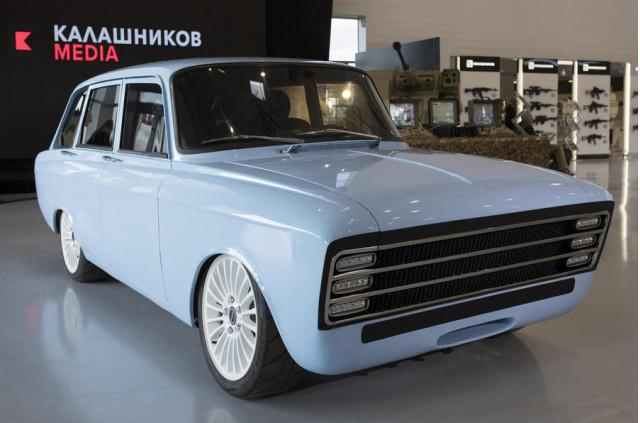 Russian manufacturer Kalashnikov moves from AK-47s to an electric car