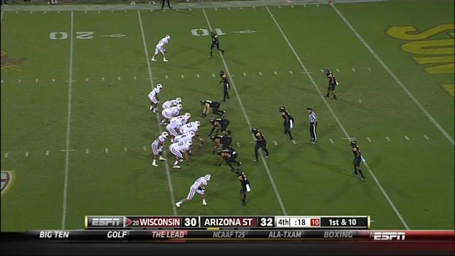 Pac-12 reprimands Wisconsin-Arizona State officials after crazy finish