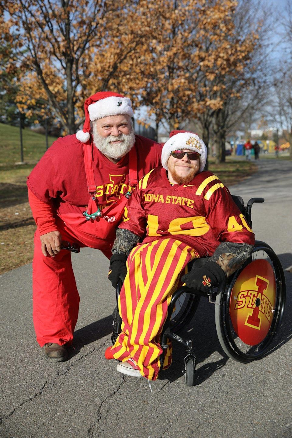Nick Bassett has been an Iowa State football season ticket holder since 2012, often going to games with his dad Vick.