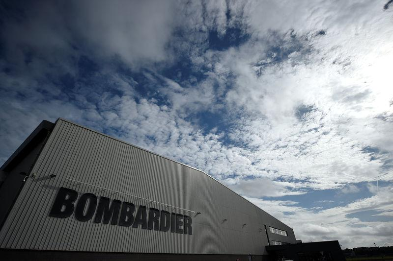 FILE PHOTO: The Bombardier factory is seen in Belfast