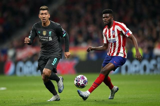 Thomas Partey (right) has been a long-term target for Arsenal.
