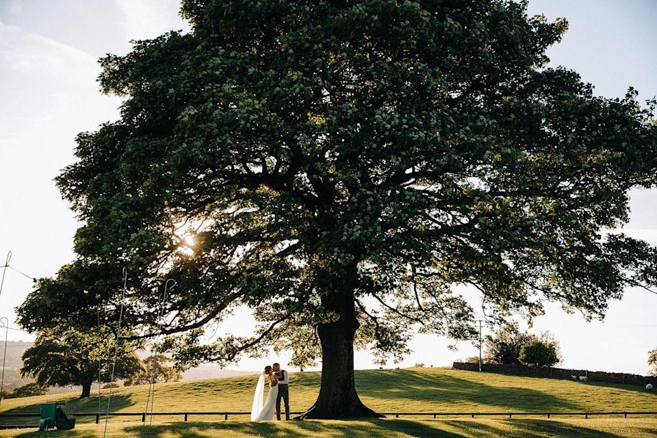 """<p>'Arrive by helicopter or a horse-drawn carriage; get married in a barn or celebrate with an outdoor ceremony.' This is Heaton House's opening statement on its website so if that doesn't tempt you to book a wedding there immediately, nothing will. </p><p>This sixth-generation family-run working farm is a true pot of gold among the hundreds of wedding venues to choose from in the UK, with its on-site caterers, purpose-built bridal preparation room, interconnected sandstone barns, outdoor patios and countryside views.</p><p>Find out more <a href=""""https://www.heatonhousefarm.co.uk/"""" rel=""""nofollow noopener"""" target=""""_blank"""" data-ylk=""""slk:here"""" class=""""link rapid-noclick-resp"""">here</a>. </p>"""
