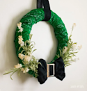 "<p>Say ""Top of the mornin'!"" to your neighbors on St. Pat's with this wreath made of green bandanas. </p><p><strong>Get the tutorial at <a href=""https://scratchandstitch.com/st-patricks-day-wreath/"" rel=""nofollow noopener"" target=""_blank"" data-ylk=""slk:Scratch and Stitch"" class=""link rapid-noclick-resp"">Scratch and Stitch</a>.</strong></p><p><a class=""link rapid-noclick-resp"" href=""https://www.amazon.com/Polytree-Unisex-Cotton-Paisley-Bandanas/dp/B00XDWSGF8/ref=sr_1_7?tag=syn-yahoo-20&ascsubtag=%5Bartid%7C10050.g.35162910%5Bsrc%7Cyahoo-us"" rel=""nofollow noopener"" target=""_blank"" data-ylk=""slk:SHOP GREEN BANDANAS"">SHOP GREEN BANDANAS</a><br></p>"