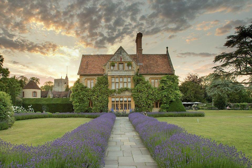"""<p>When it comes to Britain's best hotel and a top-notch Michelin-starred dining, you can't beat Belmond Le Manoir aux Quat'Saisons in Oxfordshire, brought to you by celebrated chef Raymond Blanc. A superb mini-break for foodies in the country and close enough from London, this magnificent hotel feels luxurious from the moment you step out of your car.</p><p>You'll want to experience Blanc's seven-course menu in the restaurant, browse the amazing gardens which include a Japanese and kitchen garden, and relax in the beautiful bedrooms during a foodie getaway.</p><p><a class=""""link rapid-noclick-resp"""" href=""""https://www.redescapes.com/offers/oxfordshire-belmond-le-manoir-hotel-gourmet-getaway"""" rel=""""nofollow noopener"""" target=""""_blank"""" data-ylk=""""slk:FIND OUT MORE"""">FIND OUT MORE</a></p>"""