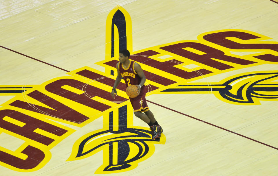 Kyrie Irving。(Photo by David Dermer/Diamond Images/ Getty Images)
