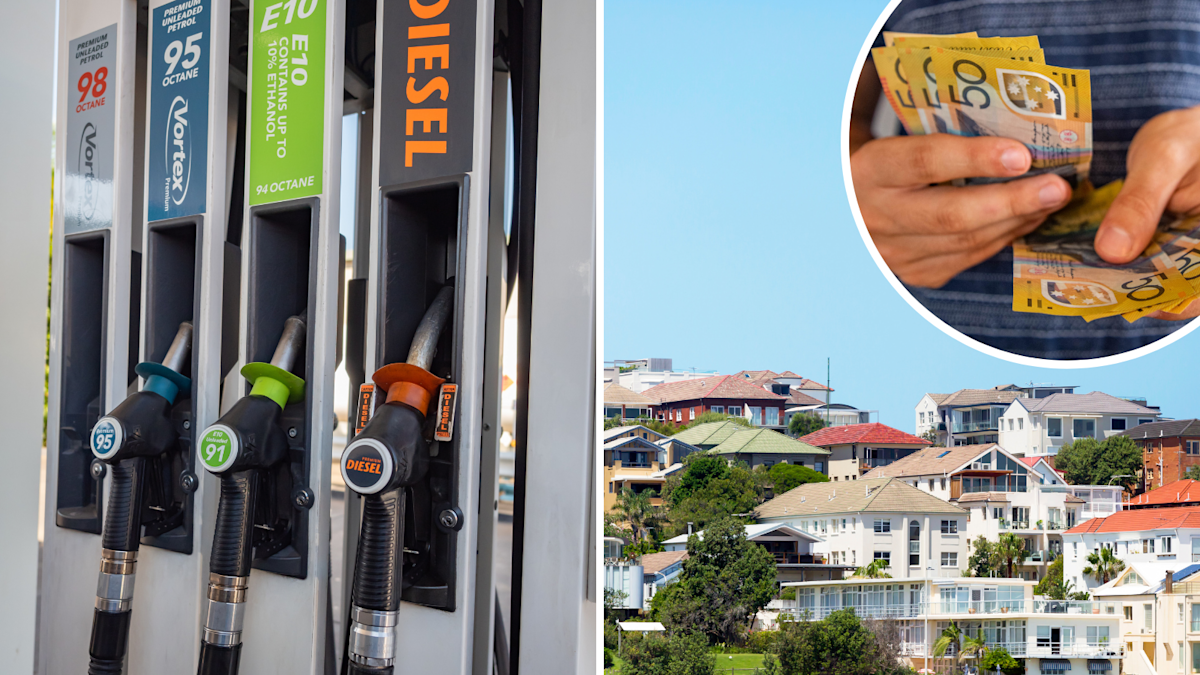 Soaring property and petrol prices push inflation higher