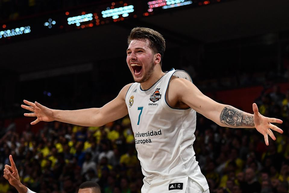 Luka Doncic should have put an end to underrating international NBA prospects. (Andrej Isakovic/AFP via Getty Images)