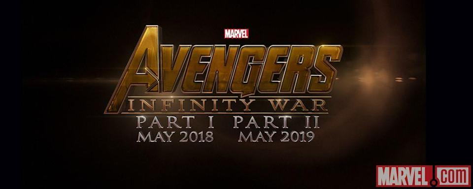 Avengers 4 was going to be known as Infinity War Part 2