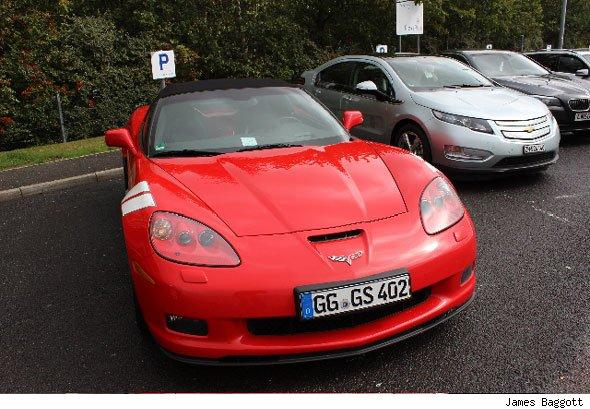 Corvette Grand Sport and Chevrolet Volt