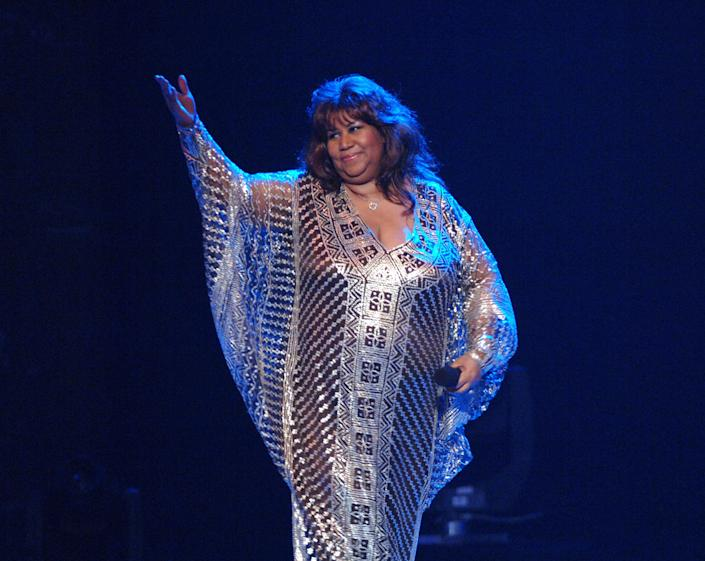 During the 59th Annual Tony Awards at Radio City Music Hall in New York City in 2005.