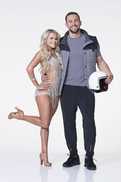 Witney Carson and Chris Mazdzer