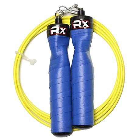 <p>Cardio has never been more easy - or more fun! - than jumping rope at home. This trusty <span>rope from RX</span> ($47) is totally customizable. You can choose the color of the handles and the cable, but just be sure she adjusts this to her height before she starts using it.</p>