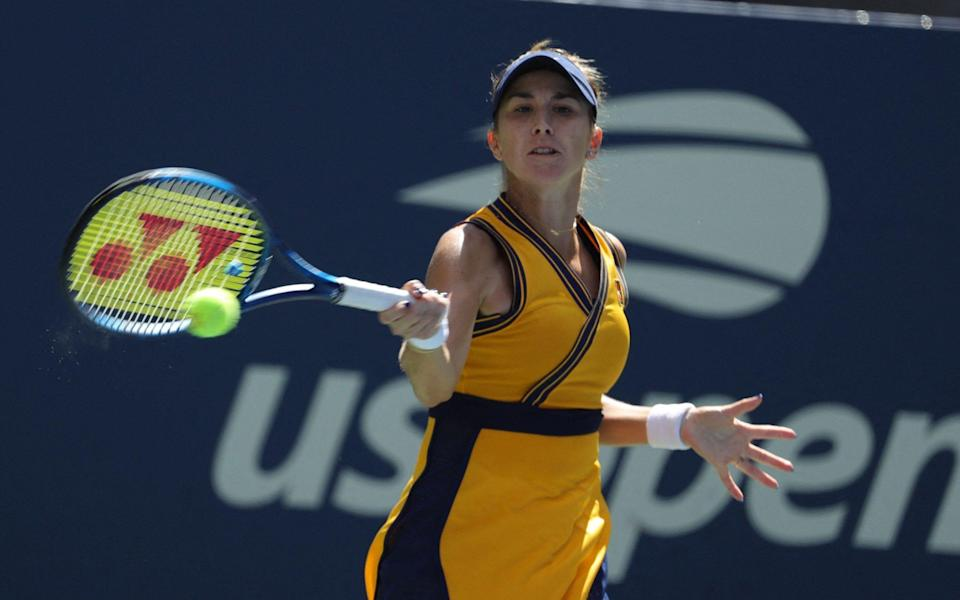 Bencic, the world No 12, is a classy player who has twice been in the last eight of the US Open - GETTY IMAGES
