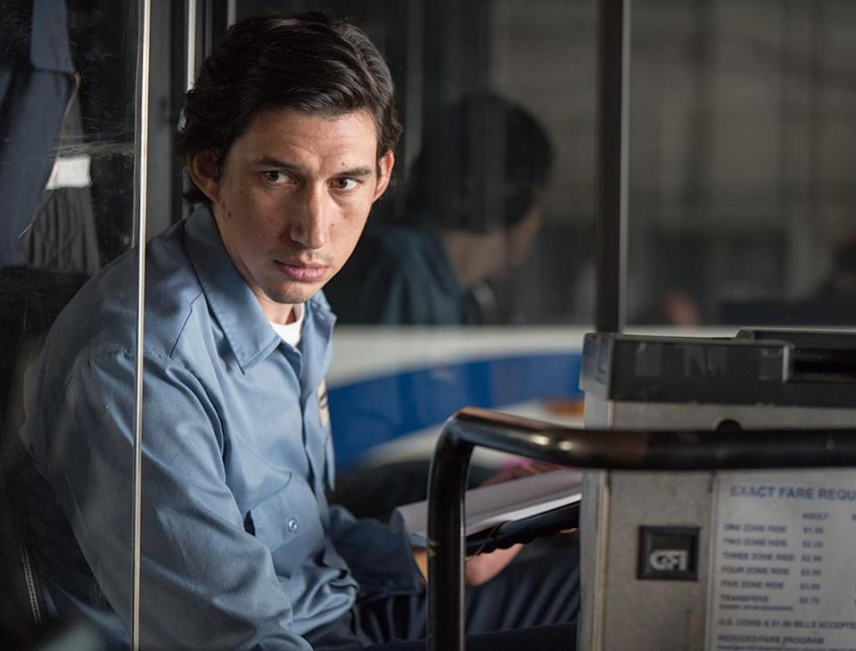 <p>Driver's quietly poetic turn as the titular bus driver/bard rhymes beautifully with Jim Jarmusch's understated screenplay and direction. Working together, they've crafted a lovely ode to finding the creative beauty in everyday routine. (Photo: Bleecker Street) </p>