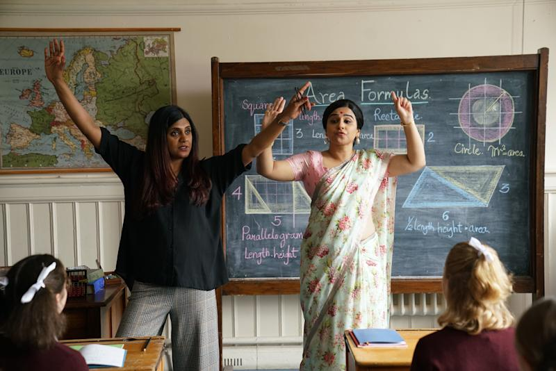 Anu Menon and Vidya Balan on the sets of 'Shakuntala Devi'. (Photo: )