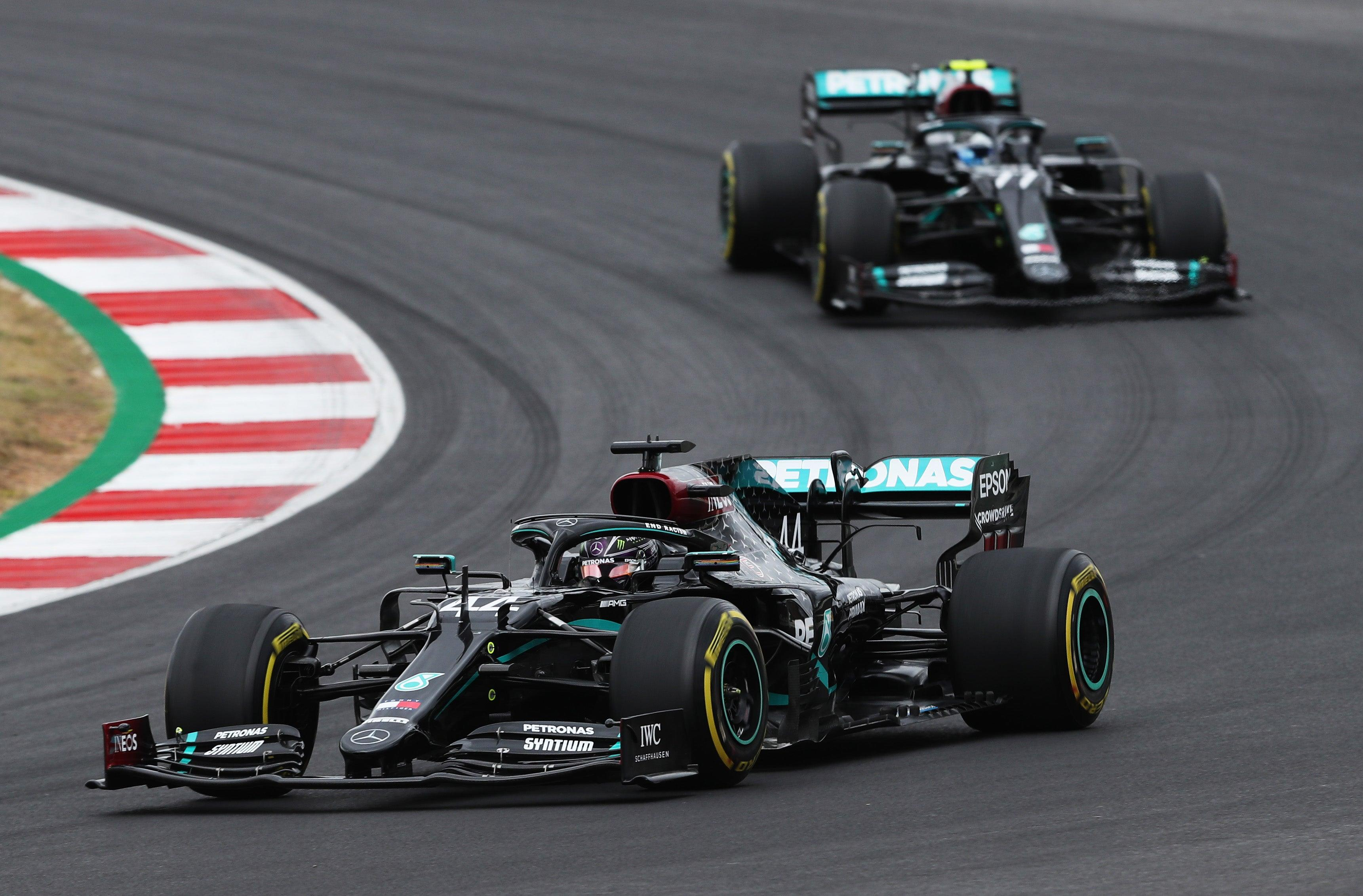 Portuguese Grand Prix LIVE: Latest updates from F1 as Hamilton retakes the lead from Bottas