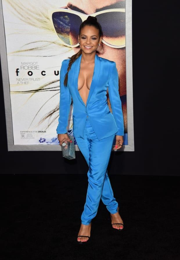 Milian at the 2015 premiere of 'Focus' in Los Angeles.<p>Photo: Jason Merritt/Getty Images</p>
