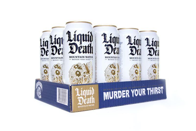 Liquid Death Water