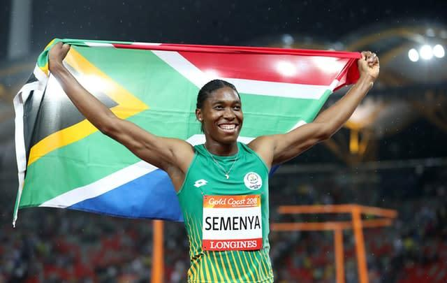 Caster Semenya will compete in the 800 metres in the Diamond League at Doha on Friday (Martin Rickett/PA)