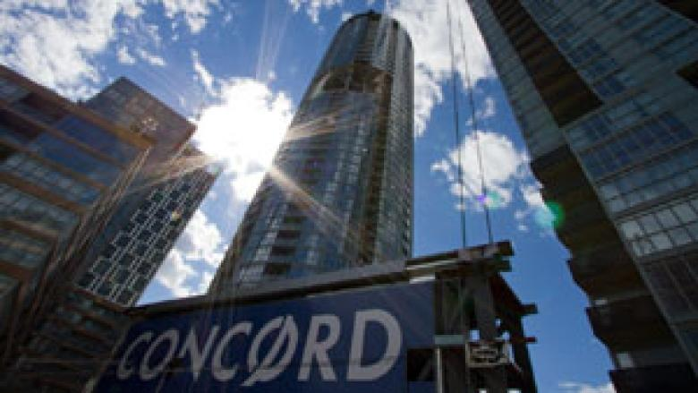 Toronto is in the midst of a major condo-building boom, which experts say makes the sector more vulnerable to future price drops
