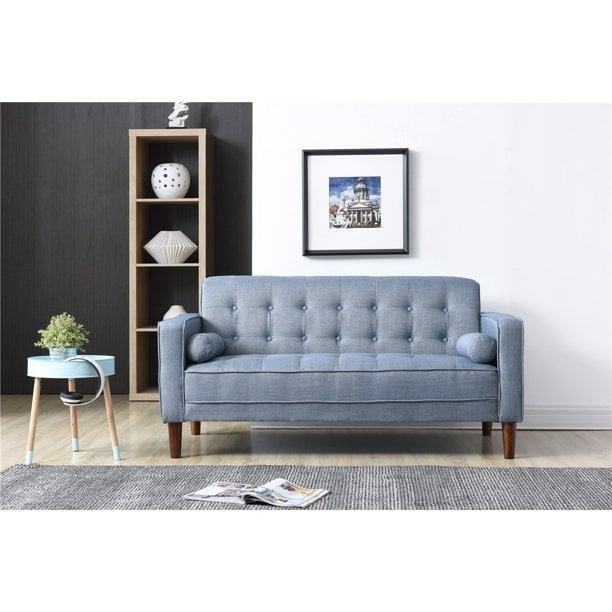 <p>This <span>Nathaniel Home Nolan Sofa</span> ($3039) is great for small spaces.</p>
