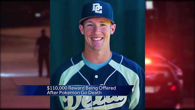 Investigators are still looking for the gunman in a Stockton student's death. Calvin Riley was shot and killed in San Francisco while playing Pokemon Go. He was a baseball player at Delta College in Stockton. The reward for information on the shooter has now reached $110,000.