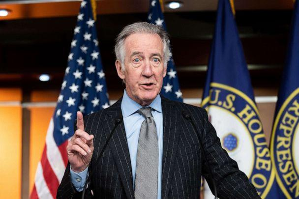 PHOTO: In this Jan. 29, 2020, file photo, Rep. Richard Neal speaks at the House Democrats 'Moving Forward Framework' infrastructure bill meeting in Washington, DC. (Michael Brochstein/SOPA Images/REX via Shutterstock, FILE)