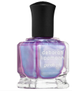 """<p><strong>Deborah Lippmann</strong></p><p>sephora.com</p><p><strong>$20.00</strong></p><p><a href=""""https://go.redirectingat.com?id=74968X1596630&url=https%3A%2F%2Fwww.sephora.com%2Fproduct%2Fnever-never-land-P429006&sref=https%3A%2F%2Fwww.harpersbazaar.com%2Fbeauty%2Fnails%2Fg35017923%2F2021-nail-trends%2F"""" rel=""""nofollow noopener"""" target=""""_blank"""" data-ylk=""""slk:Shop Now"""" class=""""link rapid-noclick-resp"""">Shop Now</a></p><p>This mermaid-esque holographic polish is surprisingly versatile; It would look gorgeous poolside, but be equally fun over the holidays.</p>"""