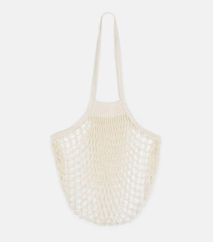 Fashion girls notoriously use net bags for grocery shopping.