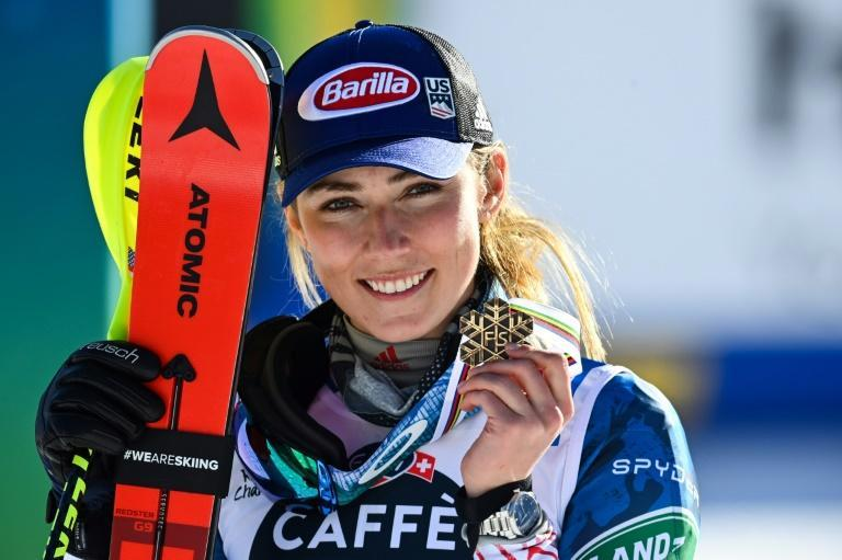 Mikaela Shiffrin now has more world championship medals than any US skier in history